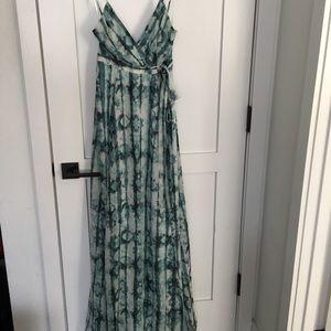 The Jetset Diaries serpiente maxi dress